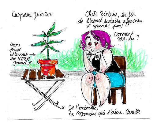 Camille PRIETO, août 2021
